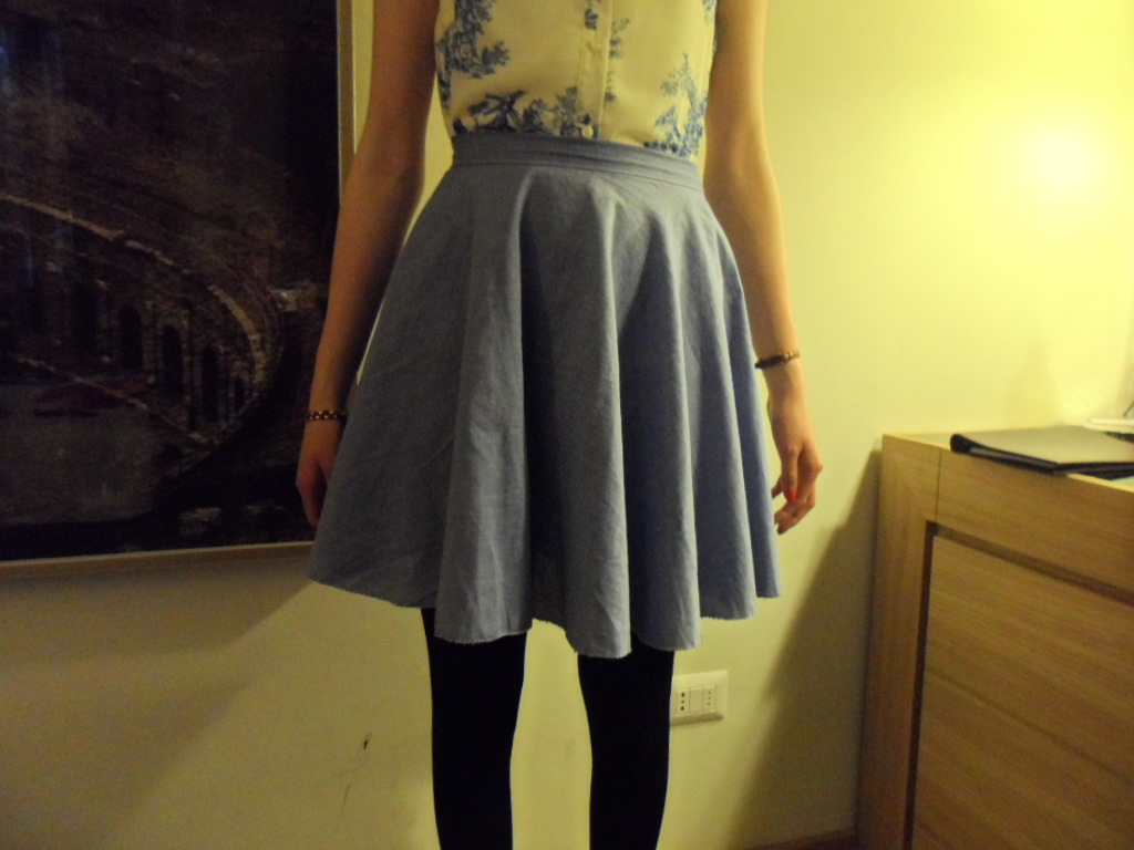DIY skirt: finished!